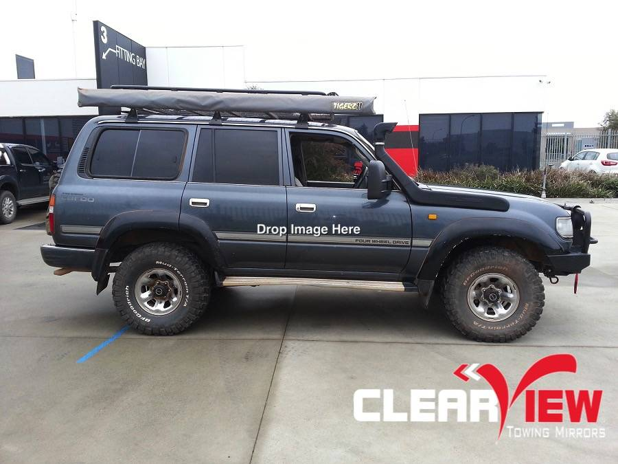 Toyota Clearview Towing Mirror Toyota Land Cruiser 80 serie