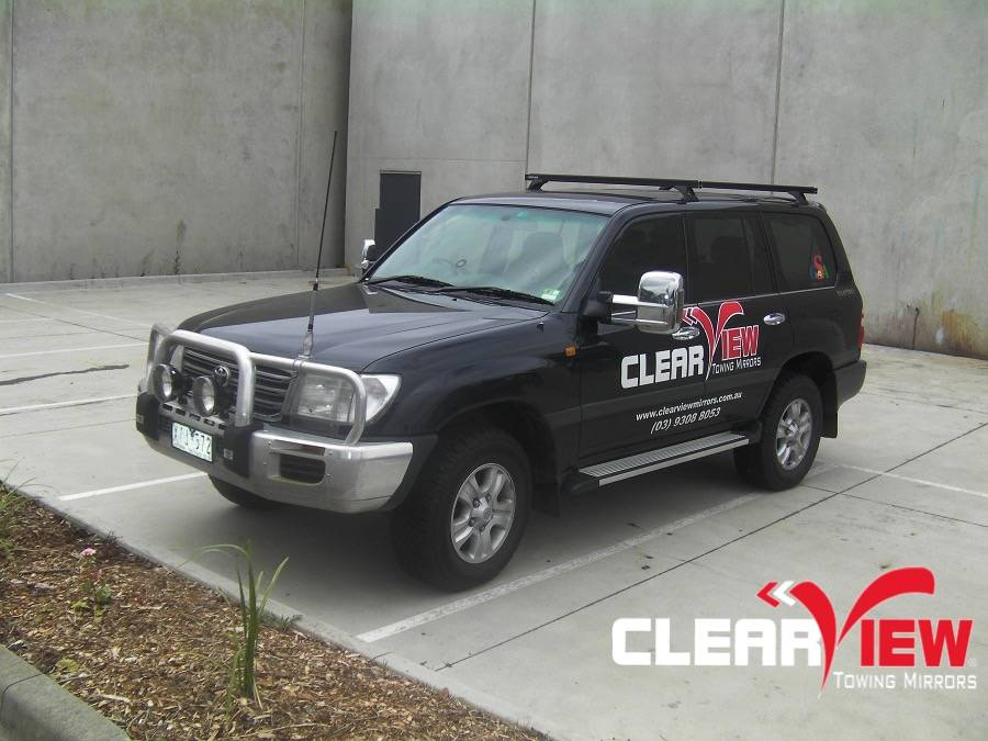Toyota Clearview rétroviseurs Toyota Land Cruiser 100 serie