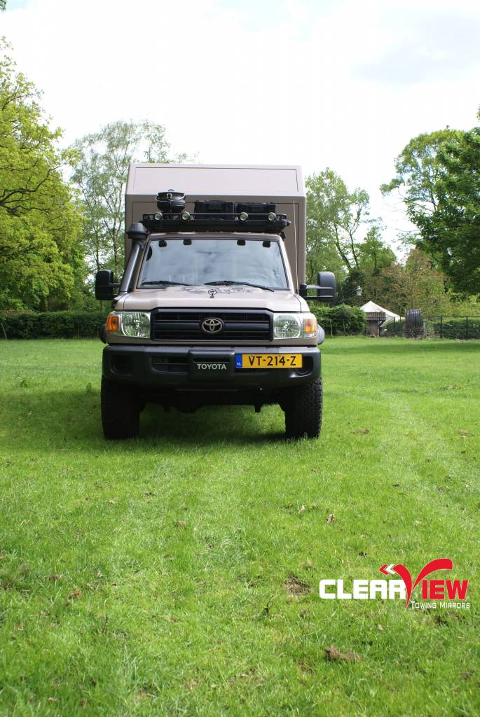 Toyota Clearview rétroviseurs Toyota Land Cruiser 70 serie