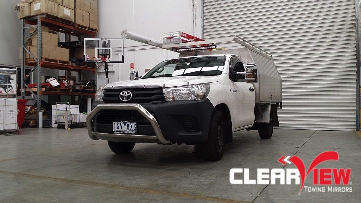 Toyota Clearview Towing Mirror Toyota Hilux 2015+ Electric Only