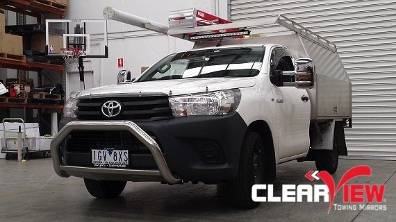 Toyota Clearview Towing Mirror Toyota Hilux Electric Only