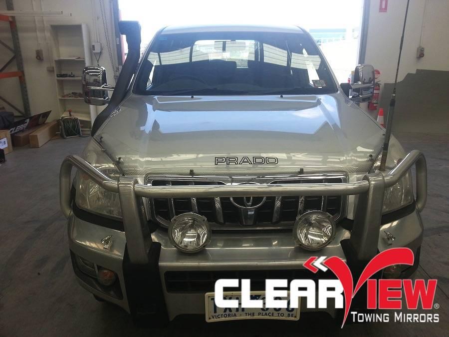Toyota Clearview rétroviseurs  Toyota 120/Prado-  seulement opération électrique