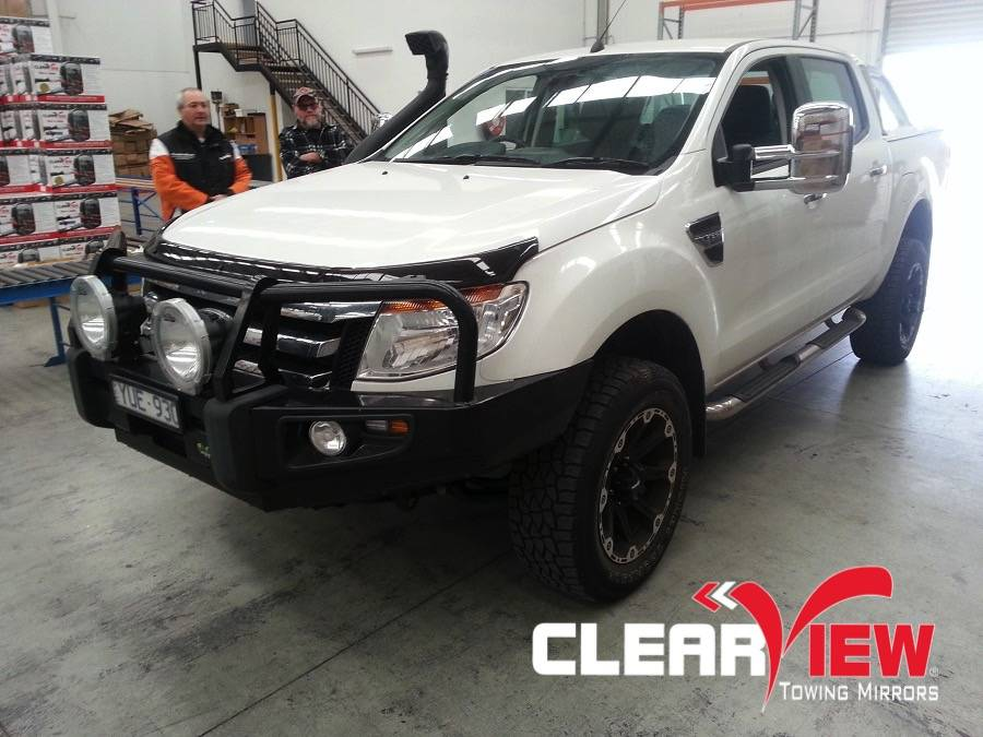 Ford Clearview extra brede spiegels Ford Ranger