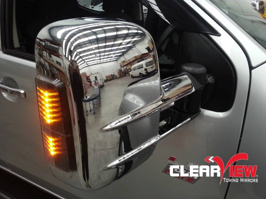 Isuzu Clearview rétroviseurs Isuzu D-max 2012+