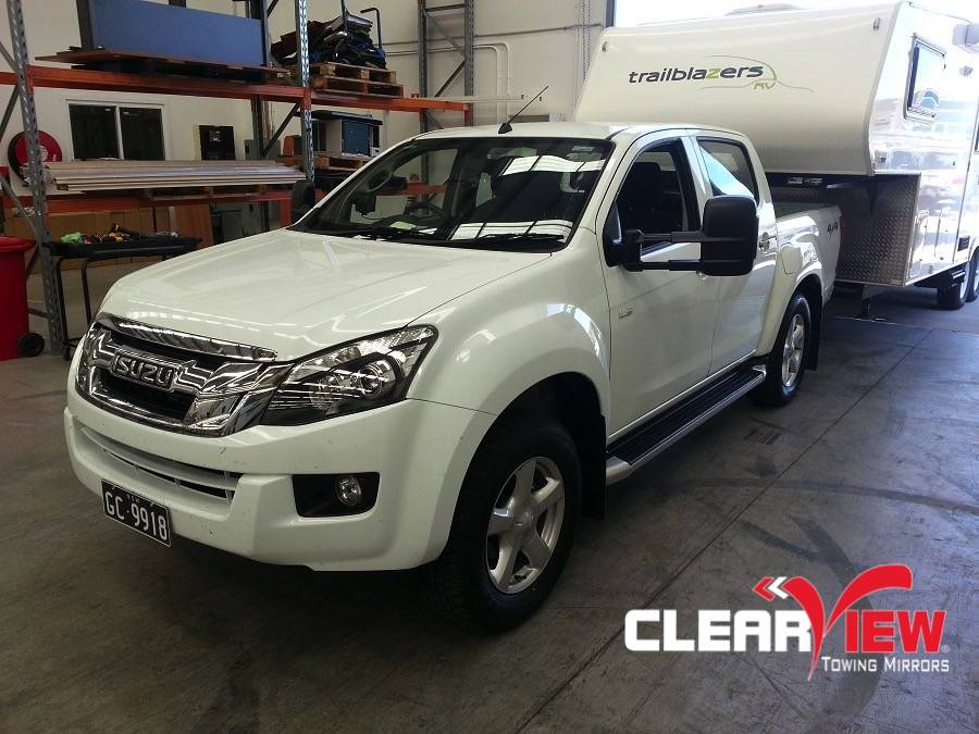 Isuzu Clearview Towing Mirror Isuzu D-max 2012+