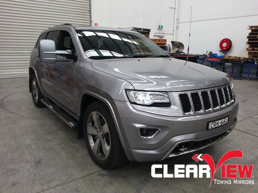 Jeep Clearview Towing Mirror Jeep Grand Cherokee Electric/Heated only