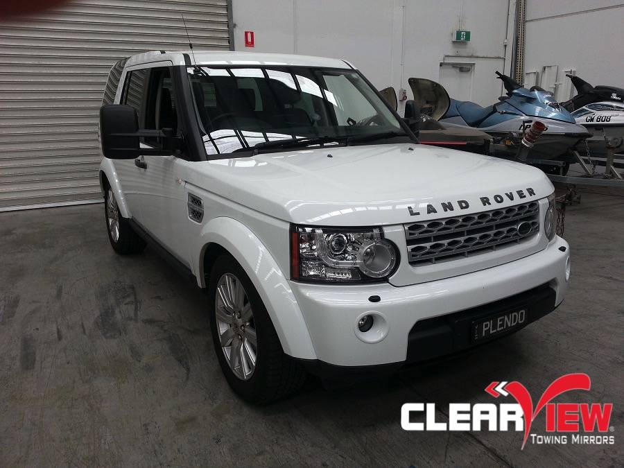 Land Rover Clearview Towing Mirror Land Rover Discovery 4  Electric only