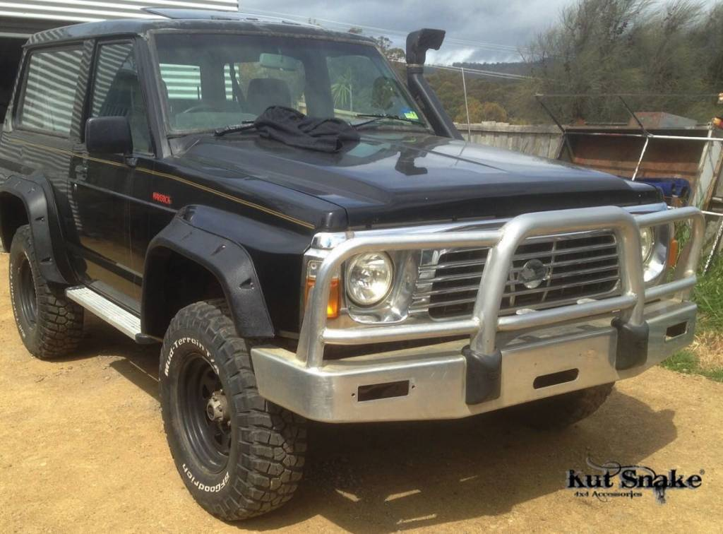 Kut Snake Fender Flares Shop Now For Nissan Patrol Y60 Adventure Trucks