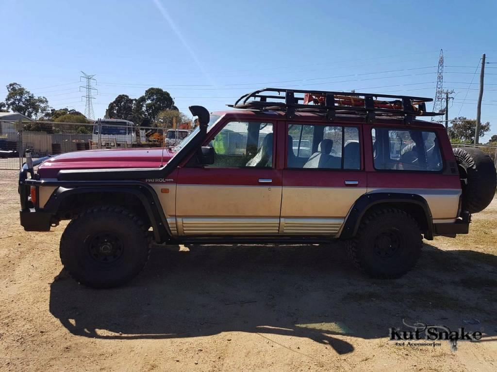 Nissan Kotflügelverbreiterung Nissan Patrol Y60 - 100mm breit