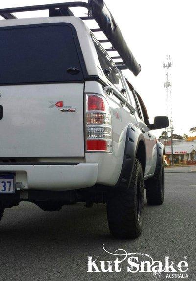 Ford élargisseurs d'ailes pour Ford Ranger PJ/PK - 70mm large