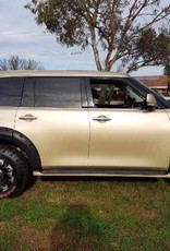 Nissan Spatbordverbreders voor  Nissan Patrol Y62  - 60 mm breed