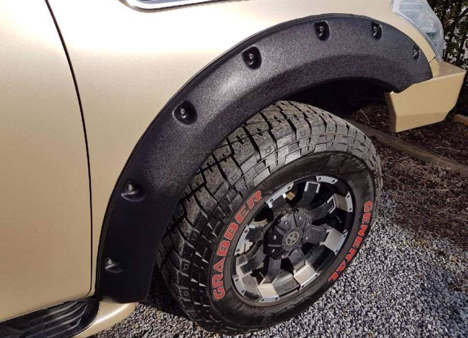 Nissan Fender Flares for Nissan Patrol Y62  - 60 mm wide