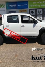 Toyota Fender Flares for Toyota Hi-Lux 2005-2012 standard (pre face-lift)   - 50 mm wide