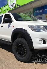 Toyota élargisseurs d'ailes pour Toyota Hi-Lux 2012-2015 standard ( face-lift) - 50mm large
