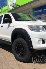 Toyota Kotflügelverbreiterung Toyota  Hi-Lux 2012-2015 standard (face-lift) - 95mm breit