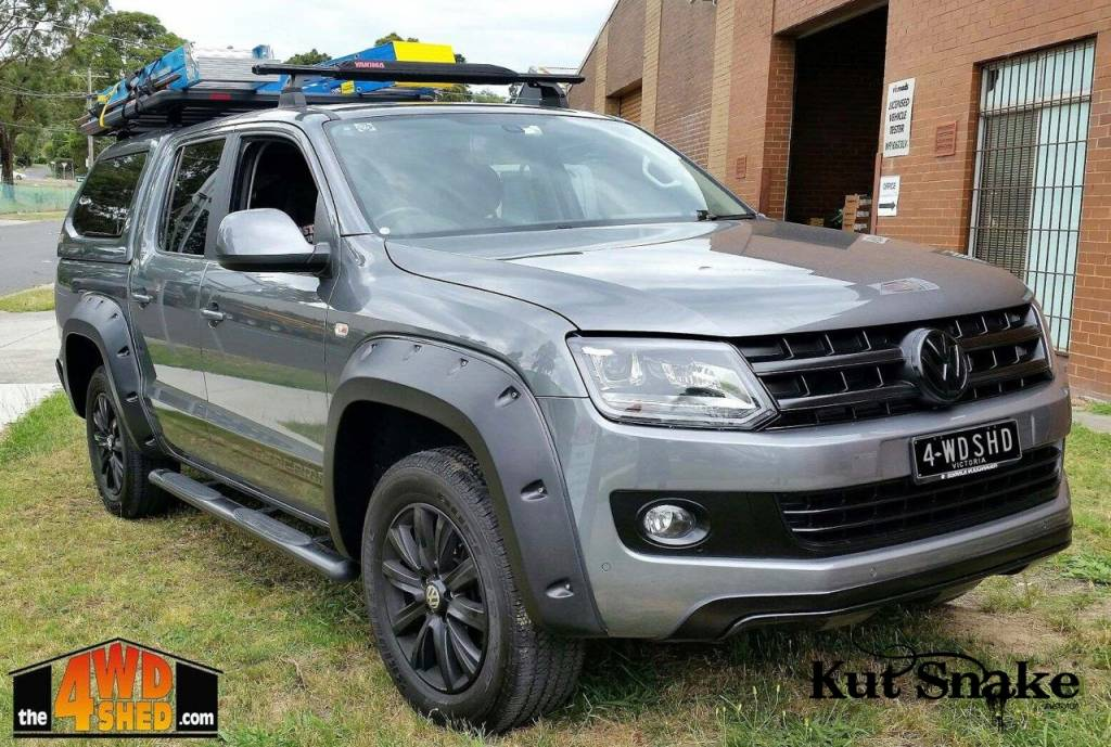 Volkswagen Fender Flares for Volkswagen Amarok - 90 mm wide