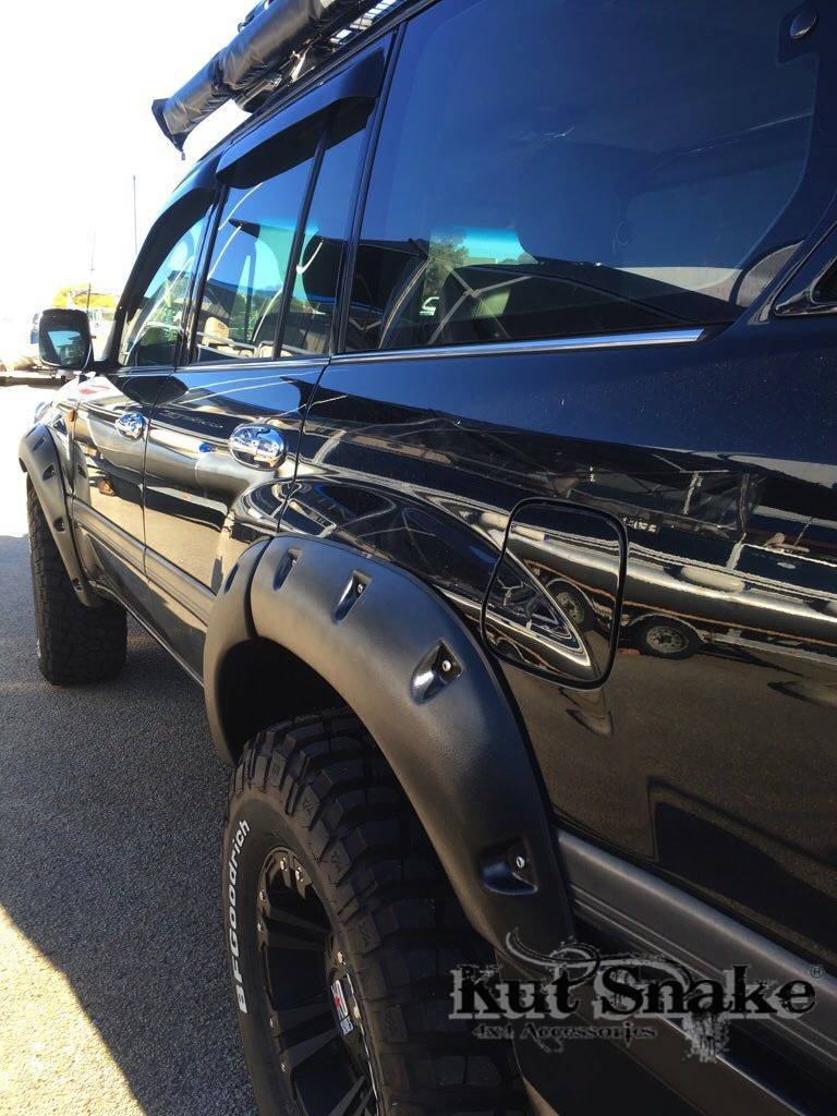Toyota Fender Flares for Toyota Land Cruiser 100 - 55 mm wide