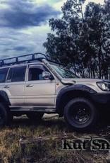 Toyota Kotflügelverbreiterung Toyota Land Cruiser 100 55 mm