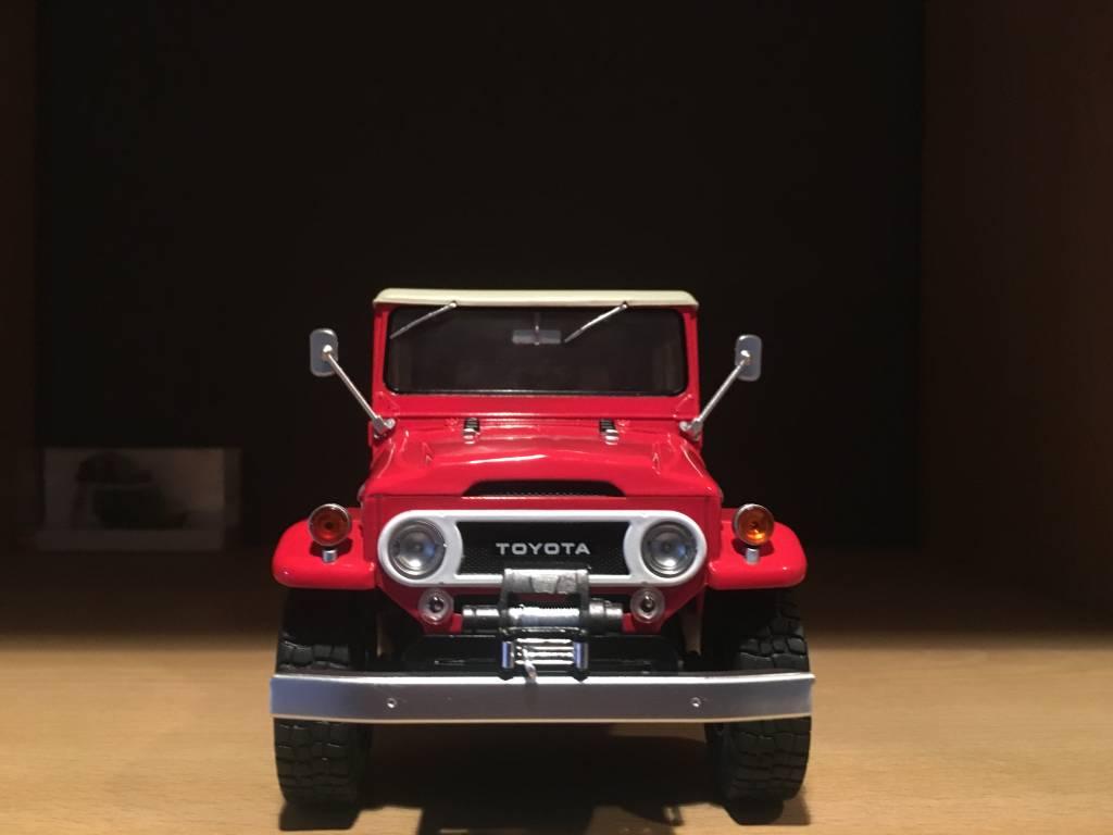 Toyota  Toyota Land Cruiser FJ40 1967 avec capote