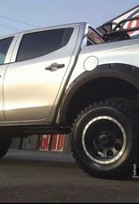 Mitsubishi Spatbordverbreders voor Mitsubishi L200 MQ - 2015+  - 70 mm breed