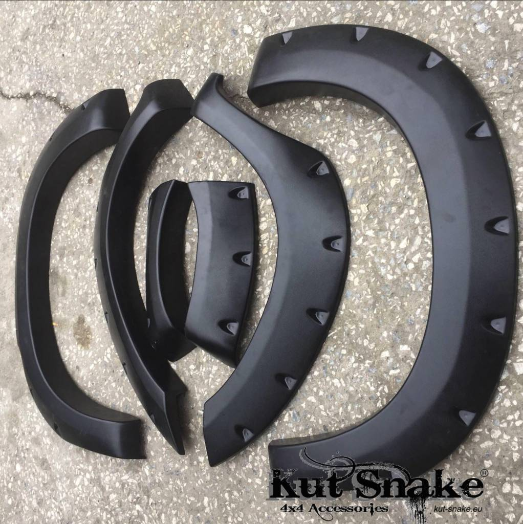 Toyota Fender Flares for Toyota Hi-Lux 2005-2012 monster (pre face-lift) - 95 mm wide
