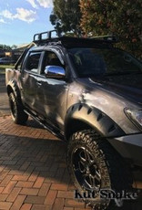 Toyota Spatbordverbreders voor Toyota HiLux 2005-2012 monster (pre face-lift)- 95 mm breed
