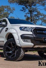 Ford Spatbordverbreders Ford Ranger PX1, PX2 en PX3 - 95 mm breed - Gladde afwerking