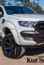 Ford élargisseurs d'ailes Ford Ranger  - 95mm large - Finition lisse