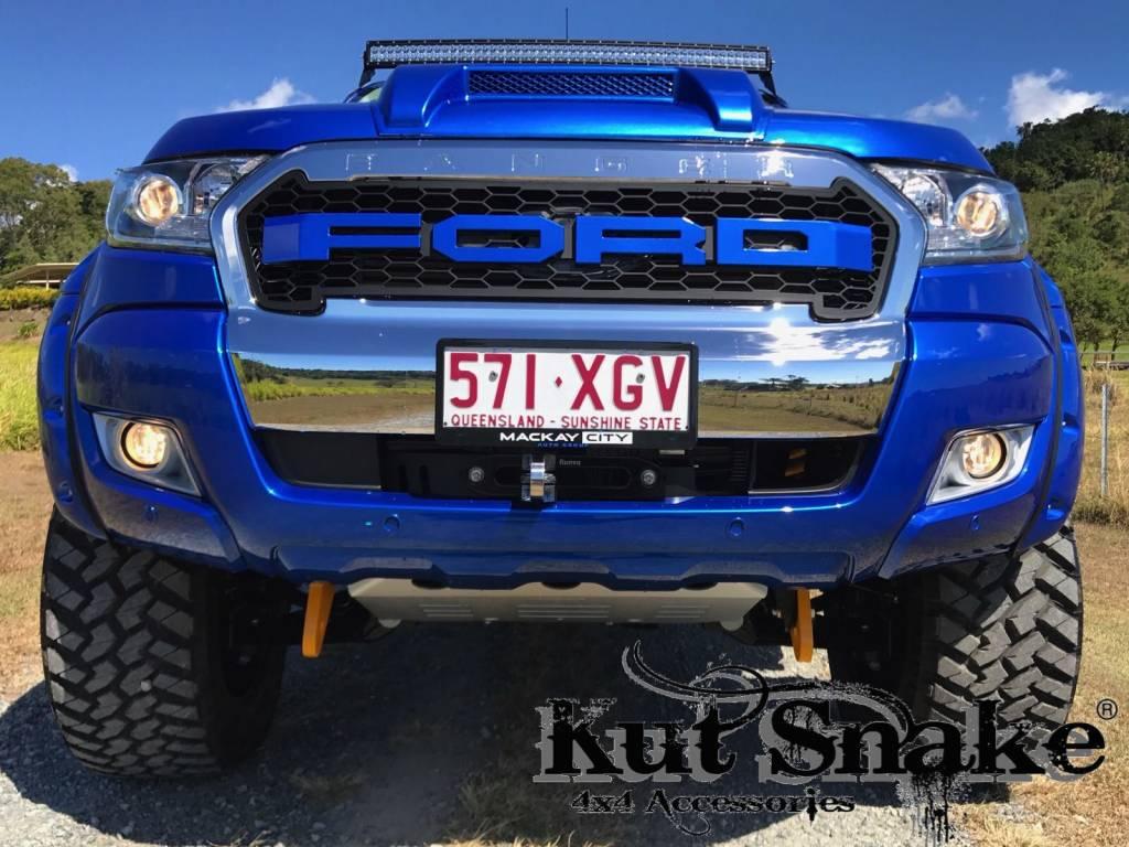 Ford Spatbordverbreders Ford Ranger PX - 55 mm breed - Gladde afwerking