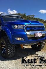 Ford Kotflügelverbreiterung Ford Ranger PX1, 2 und 3 -55 mm breit - Glatte Oberfläche
