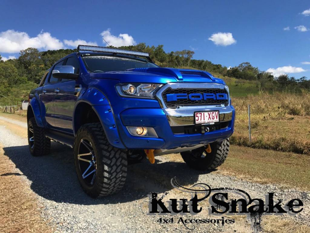 Ford Fender Flares Ford Ranger PX1, 2 and 3- 55 mm wide - Smooth finish