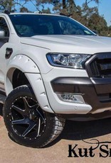 Ford Kotflügelverbreiterung Ford Ranger PX  -55 mm breit - Glatte Oberfläche