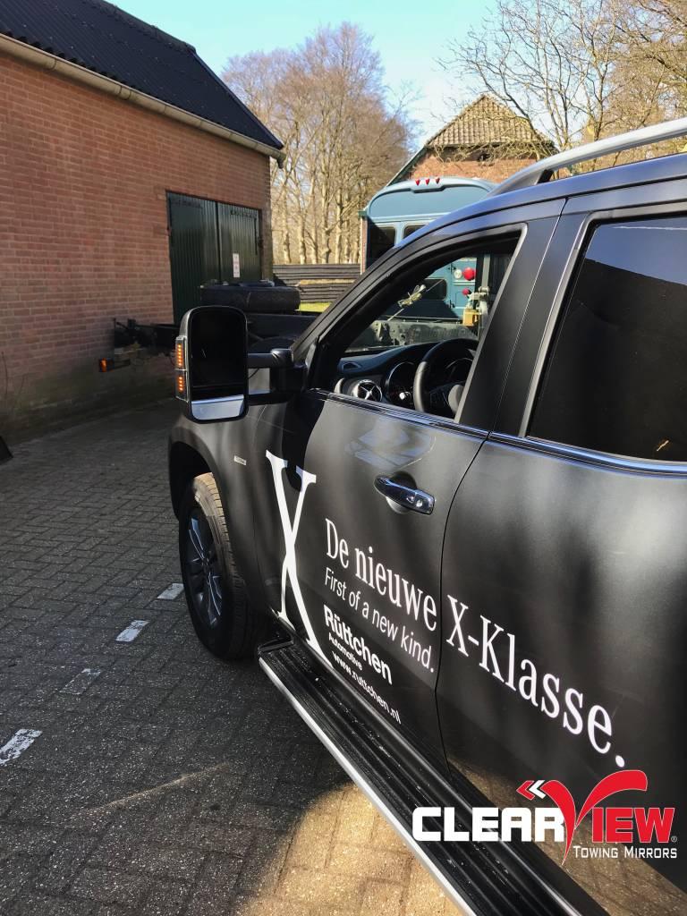 Mercedes Benz Clearview rétroviseurs  Mercedes Benz classe X, actionné électriquement, chauffé et indicateurs