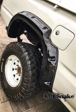 Toyota Spatbordverbrders voor Toyota HiLux  - 106 enkel Cabine - 95 mm breed