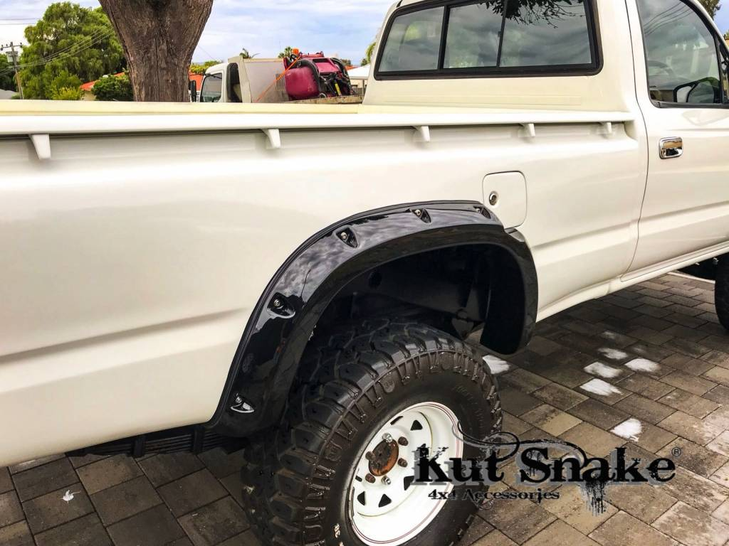 Toyota Fender Flares for Toyota HiLux  - 106 Single Cab - 95 mm wide