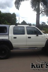 Toyota Fender Flares for Toyota HiLux 167 Double cab - 95 mm wide