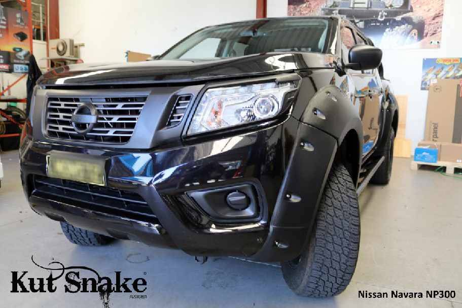 Nissan Spatbordverbreders Nissan Navara D23-Monster - 85 mm breed -AD-BLUE