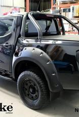 Nissan élargisseurs d'ailes pour Nissan Navara D23-Monster - 85 mm large - AD-BLUE