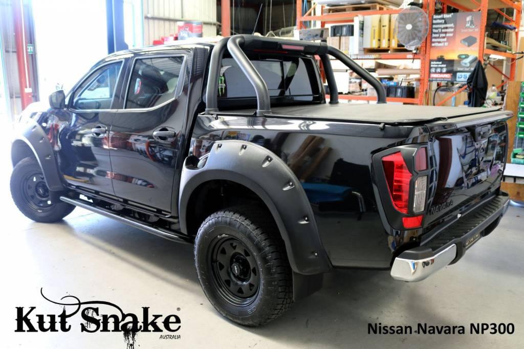 Nissan Fender Flares for Nissan Navara D23-standard -68-78mm wide - AD-BLUE