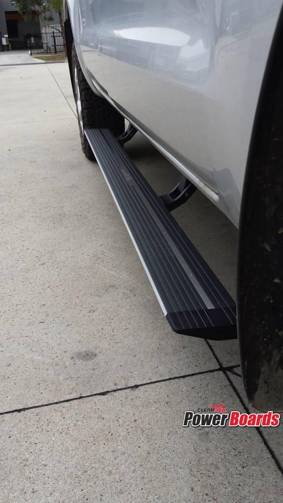 Ford Elektrisch uitklapbare treeplanken