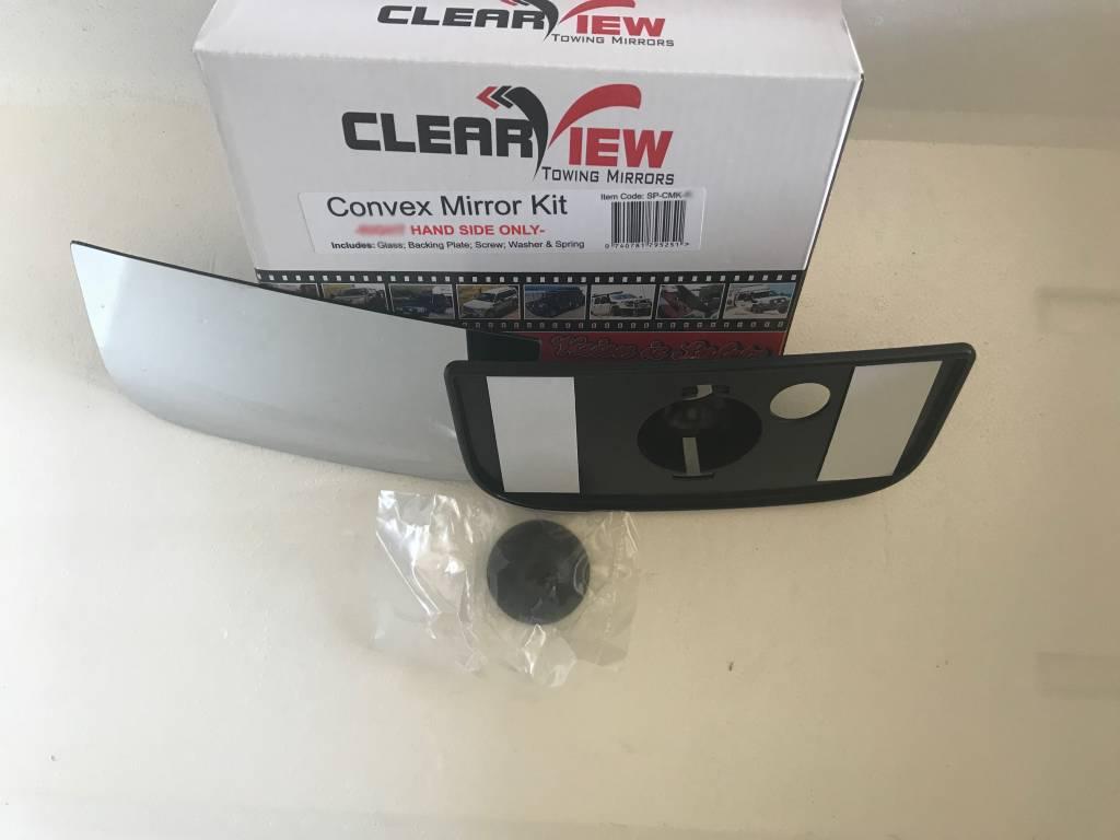ClearView  Verre miroir convexe complet avec plaque de base