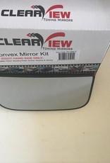ClearView Dodehoekspiegel Glas compleet met achterplaat
