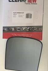 ClearView Spiegel Glas compleet met achterplaat
