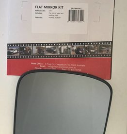 ClearView Mirror Glass complete with back plate