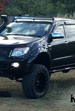 """Ford Kotflügelverbreiterung Ford Ranger PX1, PX2 und PX3  """"Monster"""" - Glatte Oberfläche - 95 mm breid"""