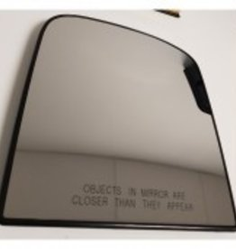ClearView Mirror glass convex instead of flat mirror glass (can only be ordered with a mirror set)