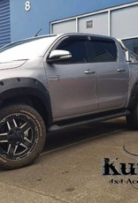 Toyota Fender Flares for Toyota HiLux (Rocco) - 2019+ 75mm wide, fits both wide and narrow body