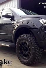 Ford Kotflügelverbreiterung Ford Ranger  PX2 und PX3  -40 mm breit
