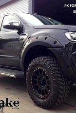 Ford Spatbordverbreders voor Ford Ranger PX2 en PX3- 40 mm breed