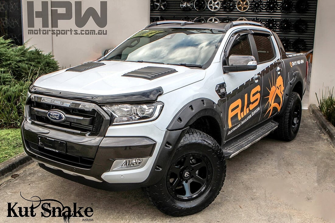 Ford Fender Flares for Ford Ranger PX2 and PX3 - 40 mm wide
